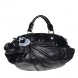 Кожаная сумка от Versace.