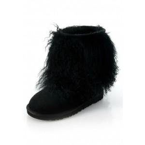 Sheepskin Cuff Black