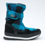 Snow joggers sporty Black Blue