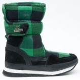 Snow joggers sporty Black Green