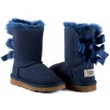 UGG KIDS BAILEY BOW NAVY,