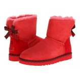UGG Bailey Bow 78 Red.