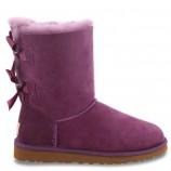UGG Bailey Bow Purple,