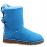 UGG Bailey Bow Blue,