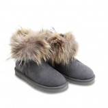 UGG Fox Fur Grey,