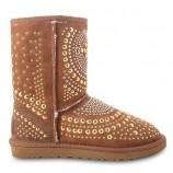UGG & Jimmy Choo Snow Boots Mandah Chestnut,