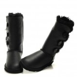 UGG Bailey Button Triplet Metallic Black,