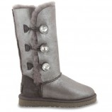 UGG Bailey Button Triplet Glitter Grey,