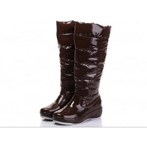 Moncler Nible ватные высокие сапоги.
